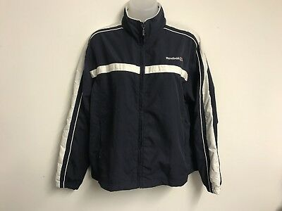 Reebok Windbreaker Jacket Size Small / 10 U Vintage Retro