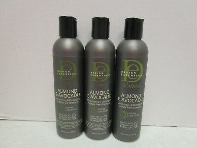 Design Essentials Almond Avocado Moisturizingdetangling Shampoo