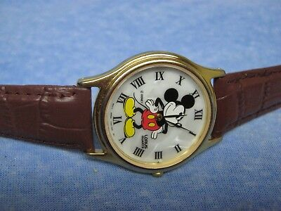 Men's MICKEY MOUSE Water Resistant Watch by LORUS w/ Battery
