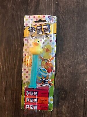 Rubber Duck Pez Dispenser With Candy 2014 New In Package