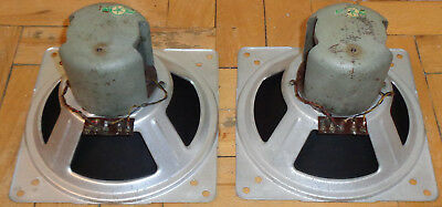 2 x LE 425 RFT STERN Rochlitz Field coil loudspeakers for Klangfilm project.