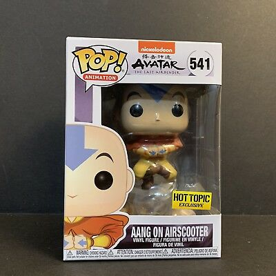 Funko PoP! AVATAR Aang On Airscooter Hot Topic Exclusive IN-HAND! fast shipping