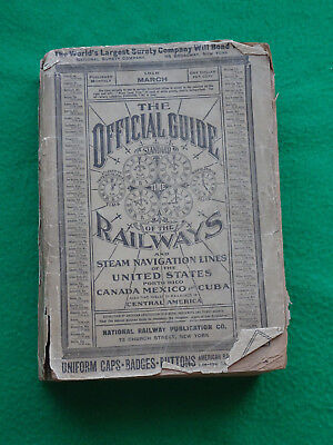 Official Guide to the Railways March 1918