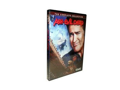 Ash vs Evil Dead: The Complete Series Seasons 1-3 (DVD, 2018, 6-Disc Set)