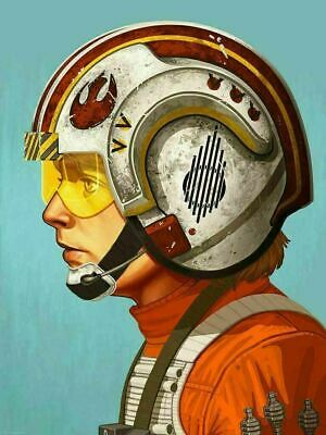 Red Five - by Mike Mitchell - Star Wars - Mondo Poster Print XX/2120