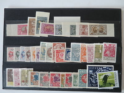 LITHUANIA NICE LOT / COLLECTION OLD PERIOD !  /Ch247