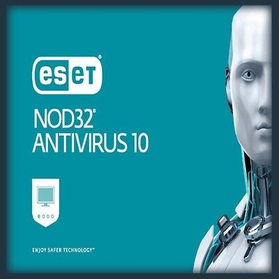 Eset nod 32 antivirus VERSION 12 --3 pc/2años