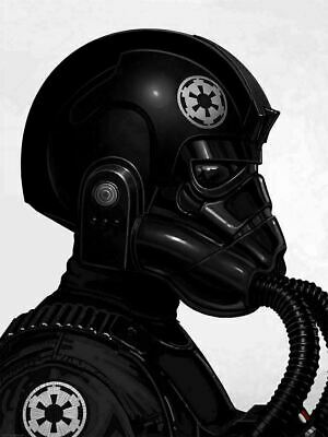 Tie Fighter Pilot - by Mike Mitchell - Star Wars - Mondo Poster Print XX/1465