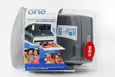 Polaroid one Instant Camera Silver with Strap from Japan [Excellent+++] #354279