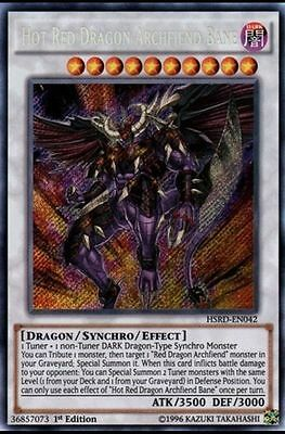 Yugioh Complete 40 Card Red Dragon Archfiend Deck Abyss Calamity **HOT** + Bonus
