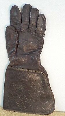 *OLD* Buco Black Leather LH Motorcycle full length Glove