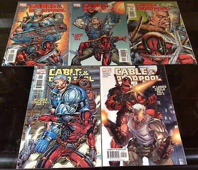 Cable And Deadpool #1,2,3,4,5 Marvel 2004 Fabian Nicieza