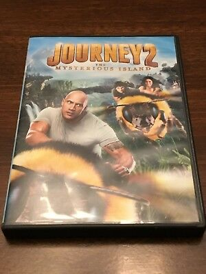 Journey 2: The Mysterious Island DVD Standard Edition - GREAT CONDITION
