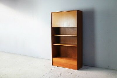 1970's mid century teak G Plan book case free standing unit - 2 available