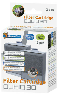 Superfish QubiQ 30 - Replacement Filter CARTRIDGE (Pack of 2)