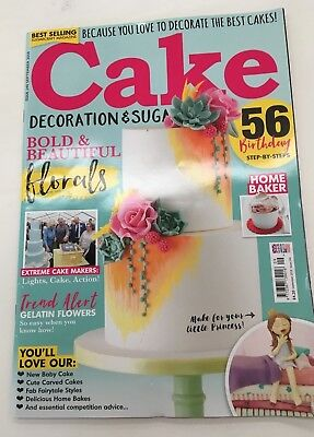 Cake Decoration & Sugarcraft Magazine Issue 240 September 2018