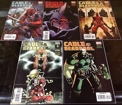 Cable And Deadpool #36,37,38,39,40 Marvel 2007 Fabian Nicieza see text about #37