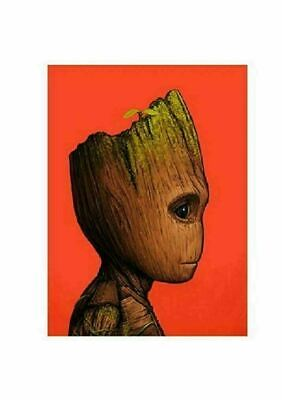 Baby Groot - by Mike Mitchell - Guardians - Mondo Poster Print XX/1355