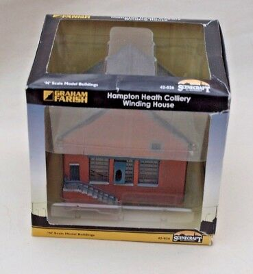 668708c2cc50 N Gauge Graham Farish Scenecraft Building - Hampton Heath Colliey Winding  House