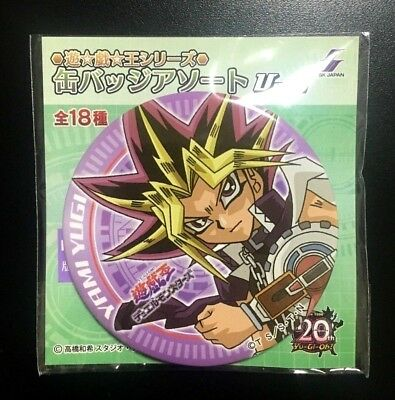Yugioh Yami Yugi Atem Pin Button Badge 20th Anniversary Dark Side Movie