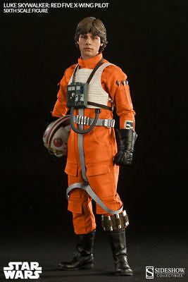 SIDESHOW Luke Skywalker Red Five X-Wing Pilot EXCLUSIVE 1/6 Scale Figure