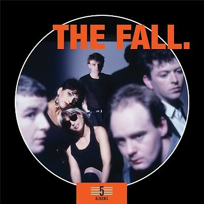 THE FALL - 5 ALBUMS BOX SET 5 CD Neuf