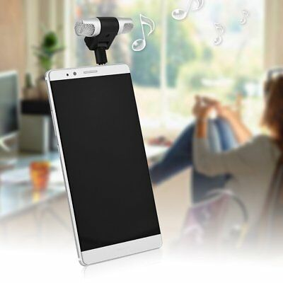 NEW Mini Stereo Microphone Audio Sound Recorder with 3.5mm Jack for Mobile Phone