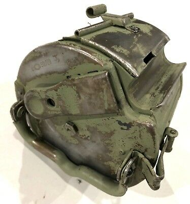 """German WW2 """"HASAG"""" Gurttommel - for MG34&42 feed trays-bare finish / Yugo Paint"""