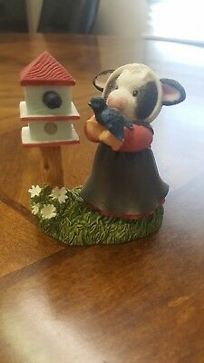 Mary's Moo Moos - A Little Bird Told Moo...#645397 w/box & ID tag