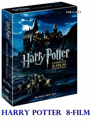 HARRY POTTER Complete 8-Film Collection(DVD, 2011, 8-Disc Set)FAST FREE Shipping