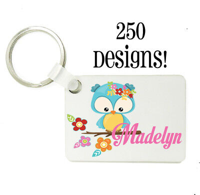 250+ designs Personalised Bag Tag Back To School Kids Kids Back pack Nametags