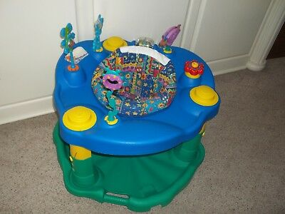 Evenflo ExerSaucer Delux Activity Jumper Play Center