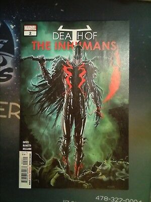 Death of the Inhumans #2 Marvel Comics VF/NM 9.0 (CB3918)