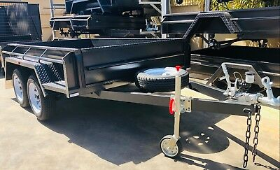 8X5 Tandem Trailer | Heavy Duty | HIGH SIDES | *Special* | 1990kg Gvm