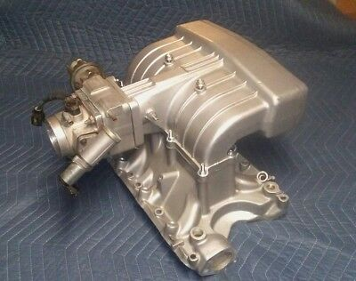 Ford 351W EFI Intake Manifold with Edelbrock/BBK 70mm Throttle Body & EGR Spacer