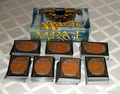 Magic The Gathering-Mirage Booster Box- 500+Game Cards- Lot Set-Mtg