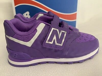 reputable site 09a80 a0ceb NEW BALANCE 574 Sneakers Baby Toddler Girl Shoes US Size 6M, 7M Purple