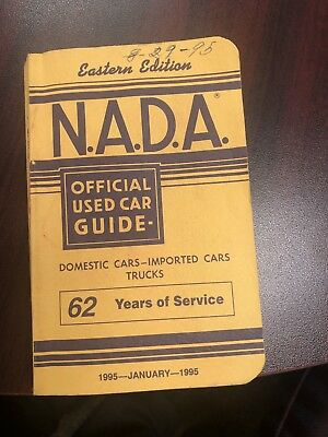 1995 N.A.D.A. Kelley Book - Used Car Guide