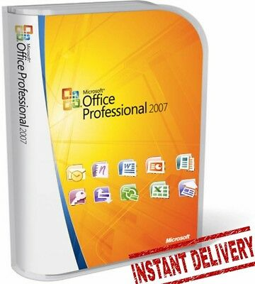Microsoft Office Enterprise 2007 English (Download + Key) Instant Delivery