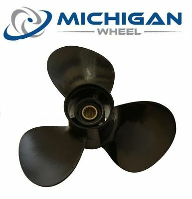 Michigan Match 11 5/8 x 11 032044 Aluminum Propeller For Suzuki 35 - 65HP
