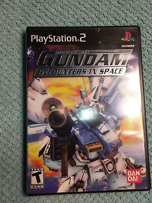 Mobile Suit Gundam: Encounters in Space (Sony PlayStation 2, 2003) PS2