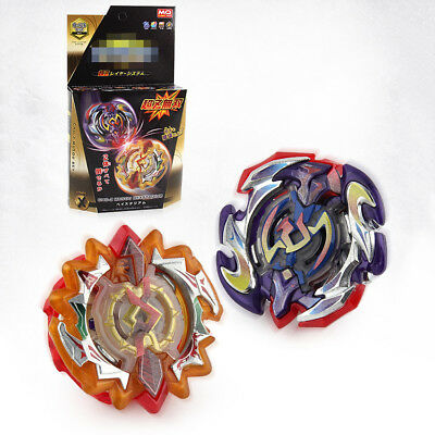 Moon & Sun Double Fusion Metal Toys Beyblade Burst  2 in 1 Gifts Kids Toys~