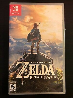 Legend of Zelda Breath of the Wild Nintendo Switch - NEW