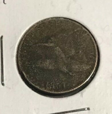 1857 flying eagle cent penny