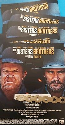 The Sisters Brothers Canadian Digital code only