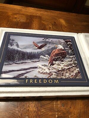 Bradford Exchange Nature's Harmony Collection Freedom by Rosemary Millette