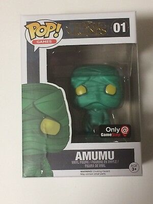 (DAMAGED) Gamestop Exclusive League Of Legends Amumu Funko Pop! #01