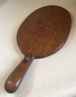 "*Robert ""Mouseman"" Thompson* Hand-Carved Oak Cheese Board *NO RESERVE PRICE*"