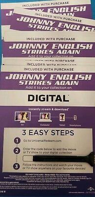 Johnny English Strikes Again Canadian Digital code only