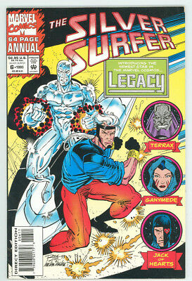 Silver Surfer Annual #6 1st App Legacy Marvel 1993 VF Free Shipping